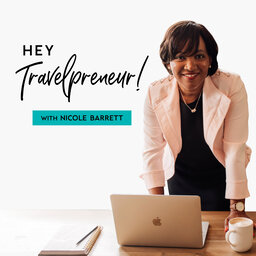 Hey Travelpreneur!: travel marketing for Travel Agents: A Candid Conversation on Travel & Diversity in Travel with Margie Jordan